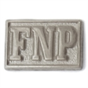 Picture of Sterling Silver Pin Guard - Block FNP