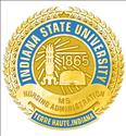 Picture of Gold Plate Indiana State University MS Nursing Administration Pin