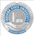 Picture of Sterling Silver Indiana State University MS Nursing Administration Pin